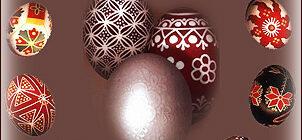 Описание пасхальных яиц