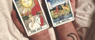 Луна и Солнце: 19 и 20 старшие арканы