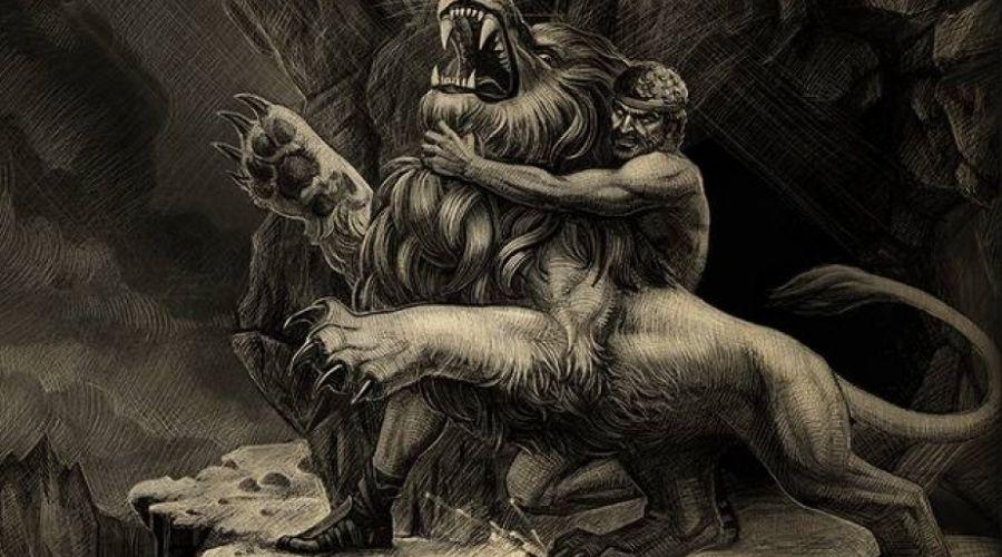 История Немейского льва и Геракла