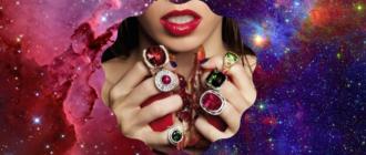 На каких пальцах носить кольца с камнями