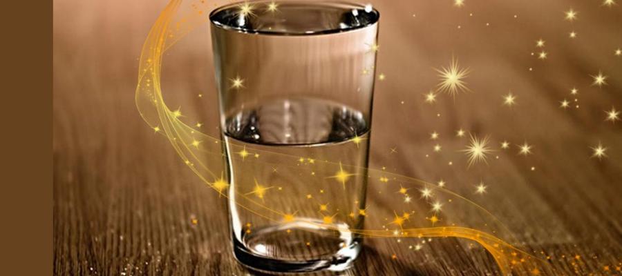 Гадания на стаканах с водой