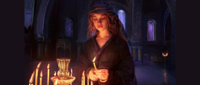 Любовный приворот со свечами