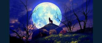 Народные приметы Луна