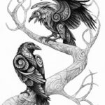 Легенды про воронов