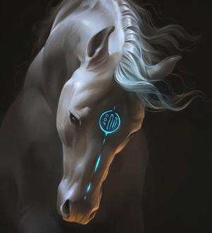 тотем конь