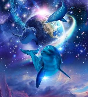 Тотем дельфин