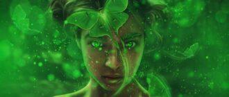 Зеленая аура значение