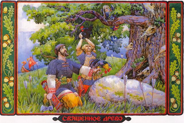 Амулеты из дерева священное дерево